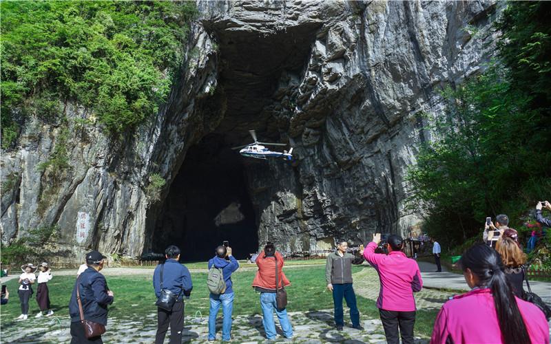 """乘直升机俯瞰利川,""""凉城""""究竟有多美?"""