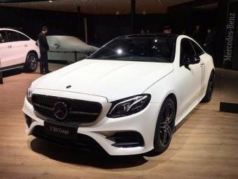 预售57万元起 新奔驰E级Coupe将推三款车型